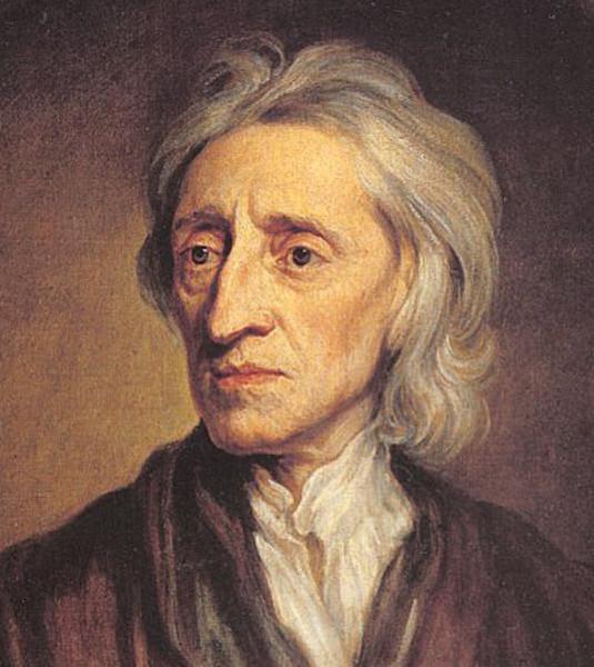 Locke foi um dos pensadores influenciados pelo racionalismo ao criar uma teoria contra a tese racionalista.