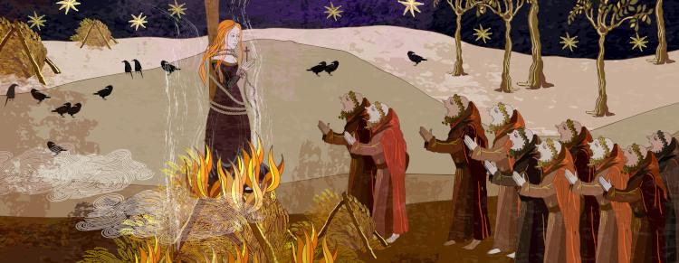 Uma das decisões estabelecidas pelo Concílio de Trento foi o Tribunal da Santa Inquisição, que buscava condenar as heresias.