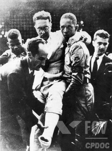 Em 5 de agosto de 1954, aconteceu um atentado contra a vida de Carlos Lacerda.[1]