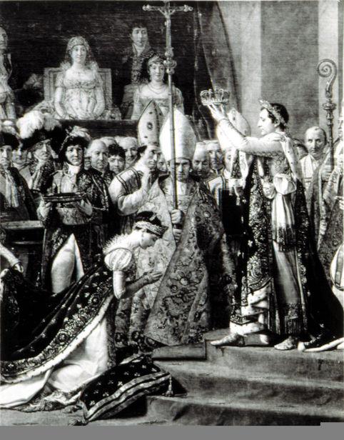 Com o ato de autocoroar-se, Napoleão assinalou que ninguém estava acima do imperador, nem mesmo a Igreja.