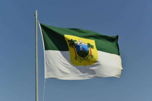 Bandeira do Rio Grande do Norte.