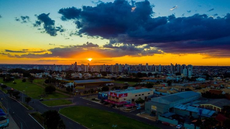 Campo Grande, capital de Mato Grosso do Sul.
