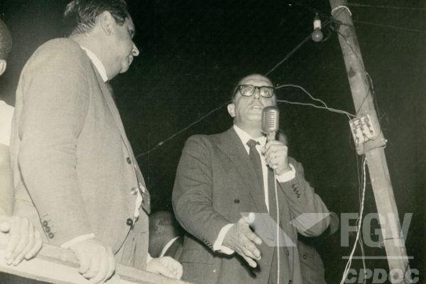 Carlos Lacerda foi um dos principais nomes da política brasileira durante a década de 1950 e parte da de 1960.[1]