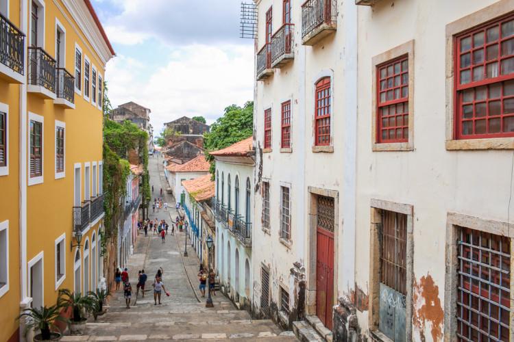 Centro histórico de São Luís, Maranhão. [2]