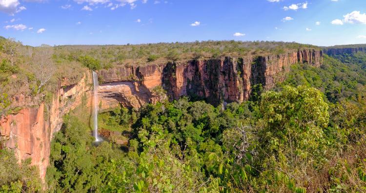 Parque Nacional da Chapada dos Guimarães, Mato Grosso.