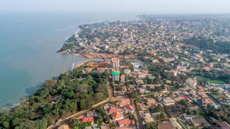 Conacri, capital da Guiné.