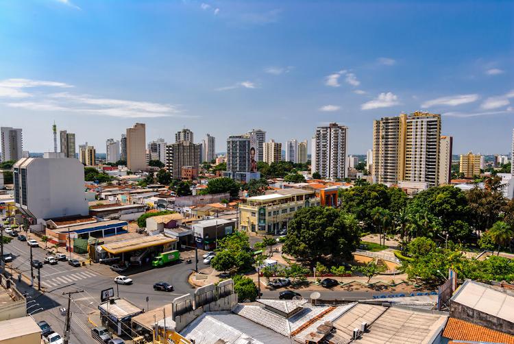Cuiabá, capital de Mato Grosso.