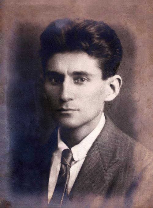 Retrato de Franz Kafka, em 1917.
