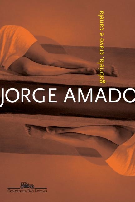 """Capa do livro """"Gabriela, cravo e canela"""", de Jorge Amado, publicado pela editora Companhia das Letras. [1]"""