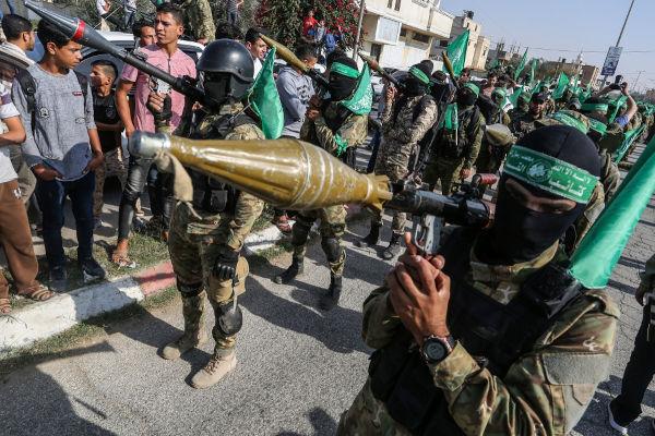 O Hamas é uma organização que lidera a luta palestina contra Israel. É considerado por muitos como um grupo terrorista.[1]