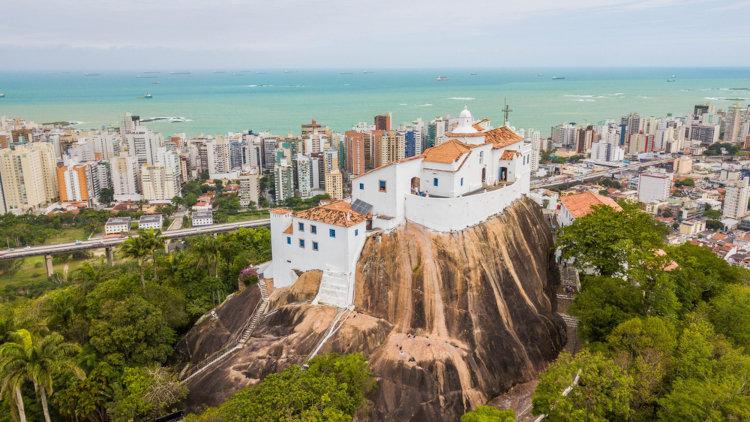 Igreja de Nossa Senhora da Penha, em Vila Velha, Espírito Santo.