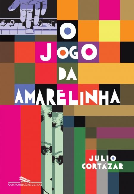 """Capa do livro """"O jogo da amarelinha"""", de Julio Cortázar, publicado pela editora Companhia das Letras.[1]"""