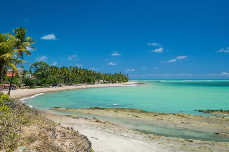 A praia de Maragogi é um dos principais centros de turismo situados no litoral de Alagoas.