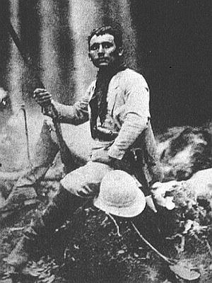 Marechal Rondon em uma de suas expedições no norte do Brasil.
