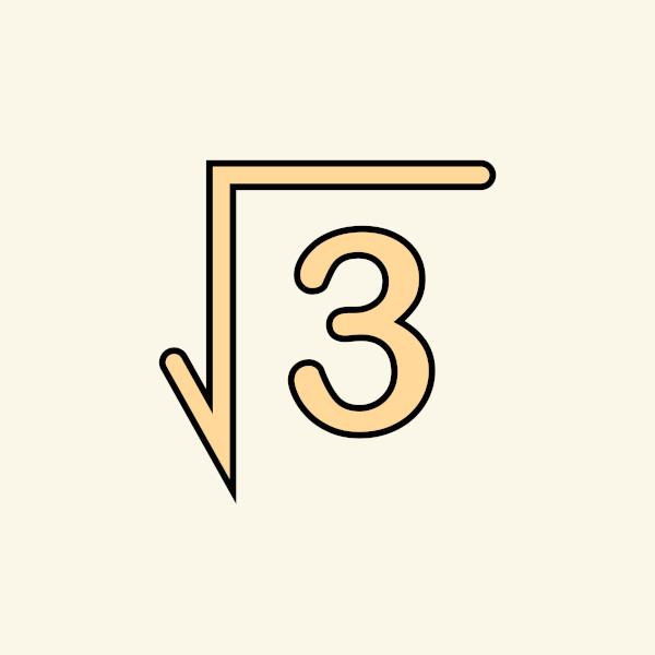 As raízes quadradas não exatas são números irracionais.