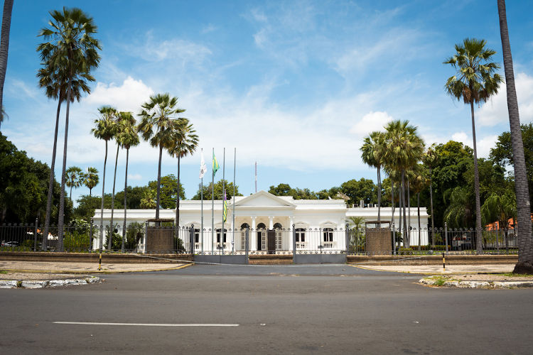 Palácio de Karnak, Teresina, Piauí.