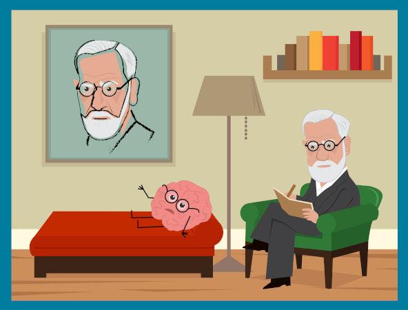 O trabalho desenvolvido por Freud no tratamento de seus pacientes ficou conhecido como psicanálise.