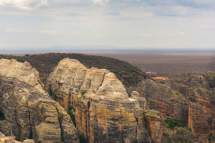Parque Nacional Serra da Capivara, no sul do Piauí.