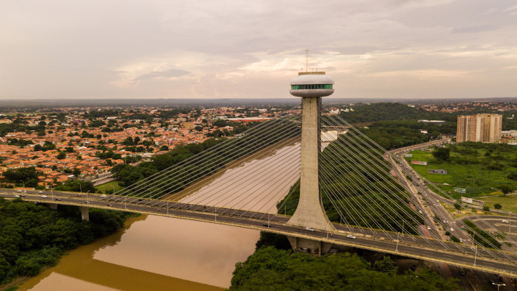 Teresina, capital do Piauí.