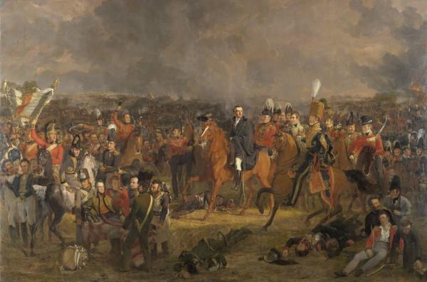 A Batalha de Waterloo representou a definitiva derrota de Napoleão Bonaparte e o predomínio da Inglaterra sobre a Europa.