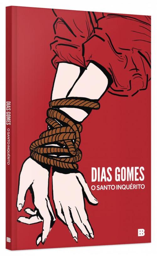 Capa do livro O santo inquérito, de Dias Gomes, publicado pela editora Bertrand Brasil, do Grupo Editorial Record. [1]