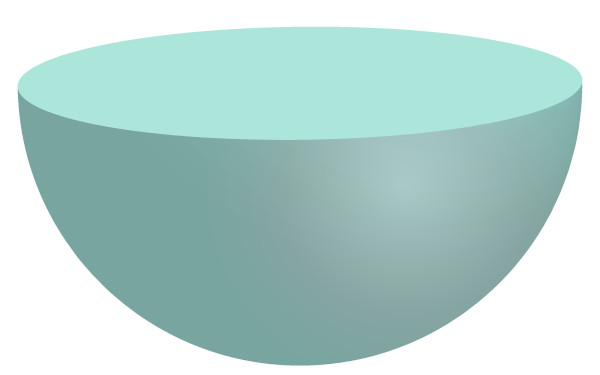Hemisfério ou semiesfera inferior