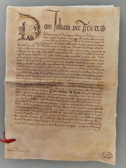 O Tratado de Tordesilhas, assinado em 4 de junho de 1494, estabeleceu limites para os domínios espanhol e português nas terras conquistadas.[1]