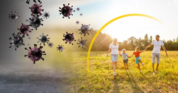Para ter uma melhoria na imunidade, é importante que todos tenham hábitos de vida saudáveis.