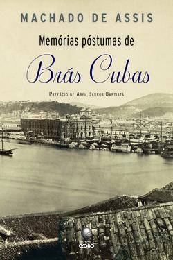 """Capa do livro """"Memórias póstumas de Brás Cubas"""", de Machado de Assis, publicado pela Globo.[1]"""
