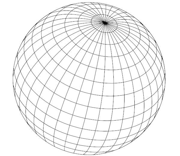 A esfera é um sólido geométrico do tipo corpo redondo ou sólido de revolução.