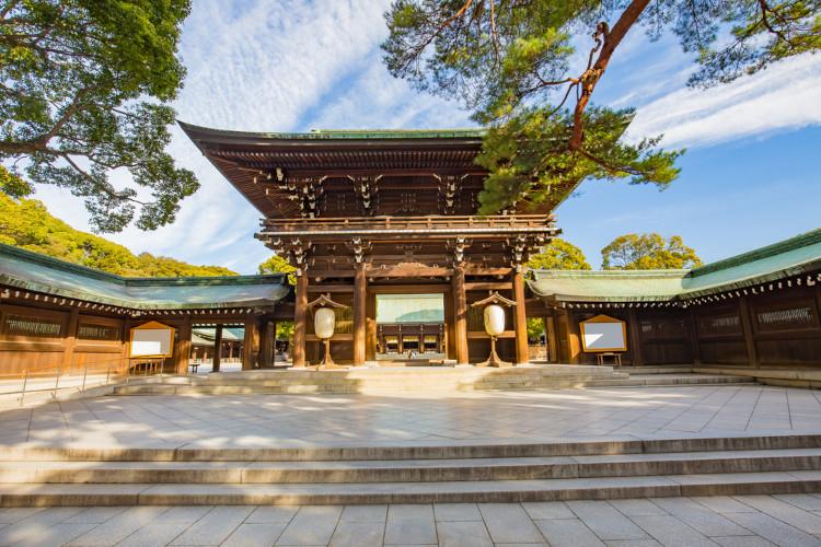 Santuário de Meiji, em Tóquio