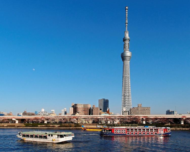 Vista da Tokyo Skytree