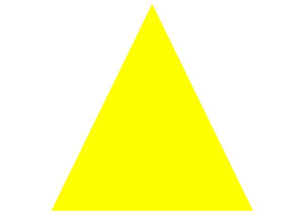 O triângulo isósceles possui dois lados congruentes.