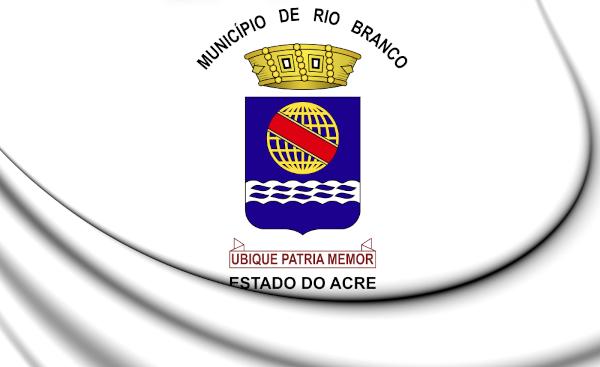 Bandeira de Rio Branco.