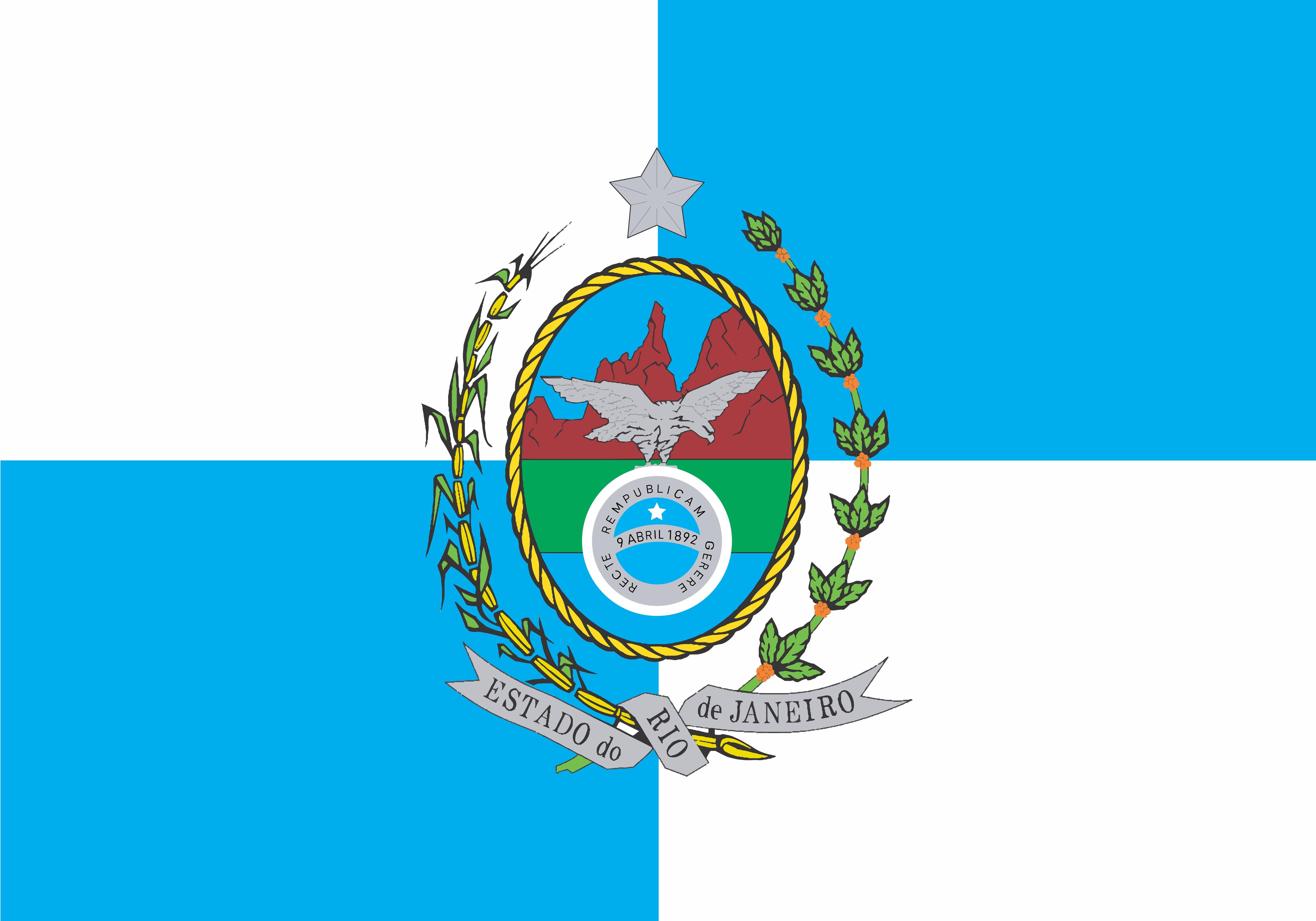 Bandeira do estado do Rio de Janeiro