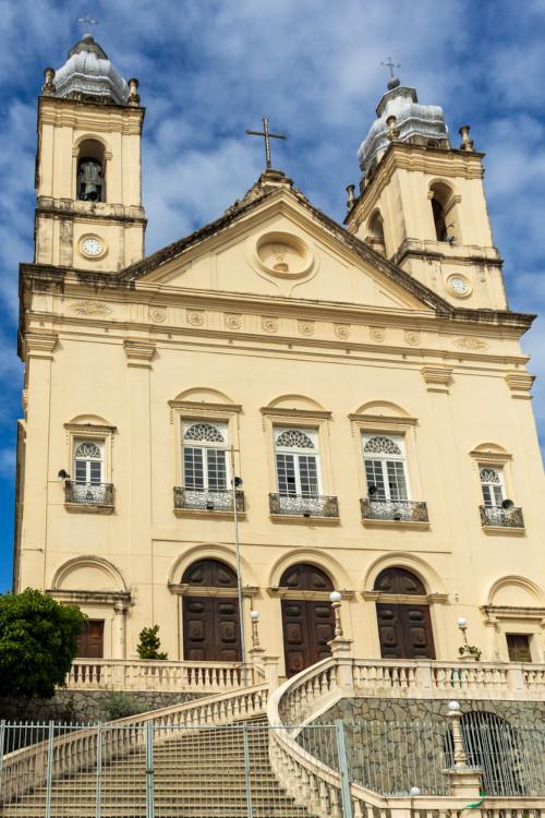 Foto da Catedral Metropolitana de Maceió.