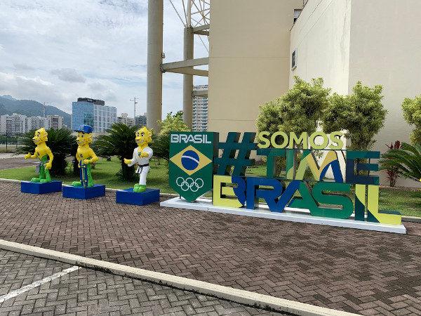 Mascote da seleção olímpica do Brasil nos Jogos Olímpicos de Tóquio em 2020.