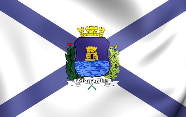 Bandeira de Fortaleza.