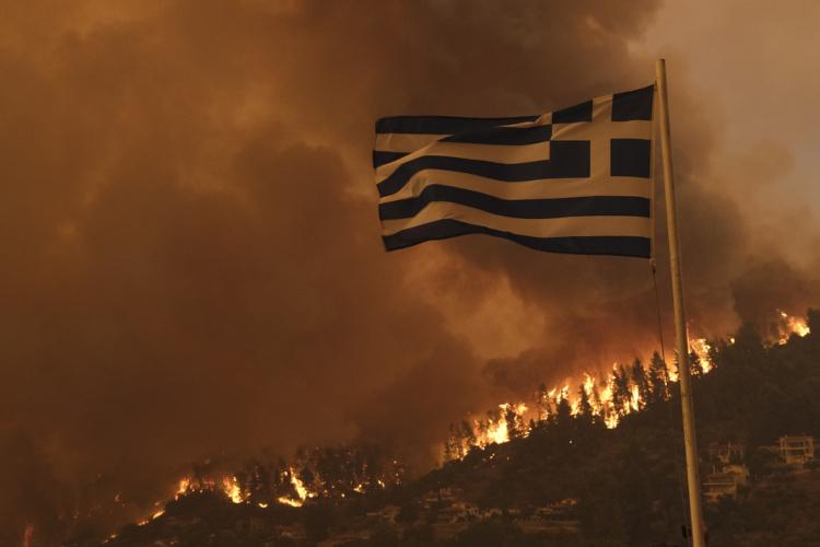 Incêndio em Evia, Grécia.[1]