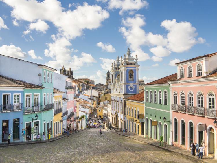 Pelourinho em Salvador, Bahia.