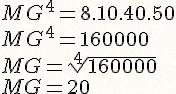 Calculando a Média Geométrica
