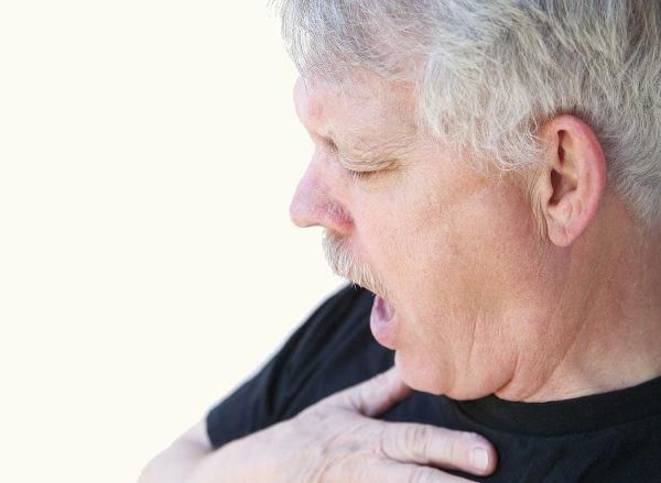 Dificuldade respiratória é um sintoma da embolia pulmonar.