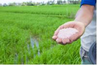 O hidróxido de amônio é usado para produzir fertilizantes