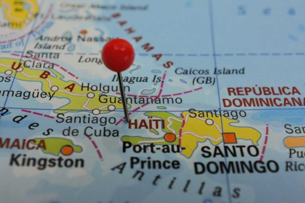 O Haiti é o único país do continente americano que está na lista de países subdesenvolvidos.
