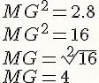 Cálculo da Média Geométrica