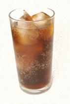 O refrigerante contém ácido fosfórico como acidulante