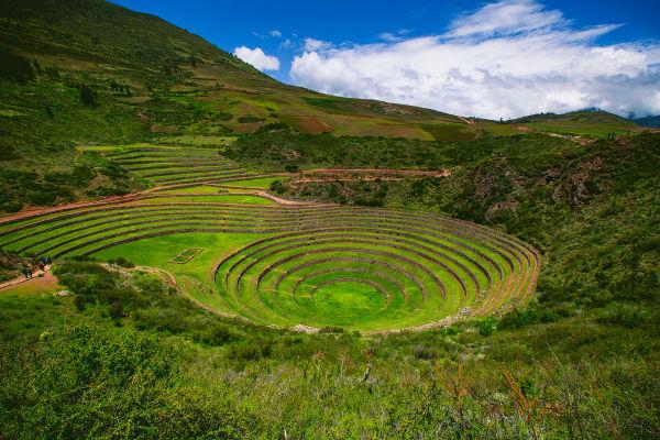 Curvas de nível é o nome que se dá à técnica de cultivo utilizada pelos incas.