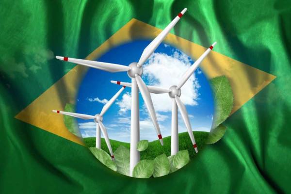O Brasil é o país com maior potencial de produção eólica da América Latina.