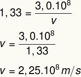 Cálculo da velocidade da luz