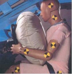 Reação em airbags